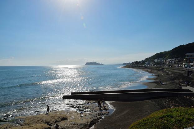稲村ケ崎から見る江の島