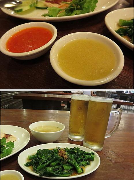 タレと副菜