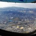 Photos: 六甲山と阪神競馬場