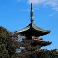 上野東照宮 前 五重の塔
