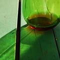 写真: The Green Glass with the Wine 5-25-14