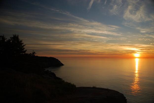 写真: The Sunrise 8-21-14