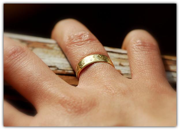 「第87回モノコン」母の結婚指輪