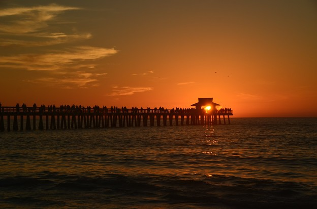 The Sunset at the Pier