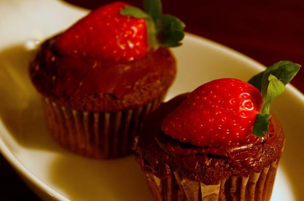 写真: Cupcakes 2-14-17