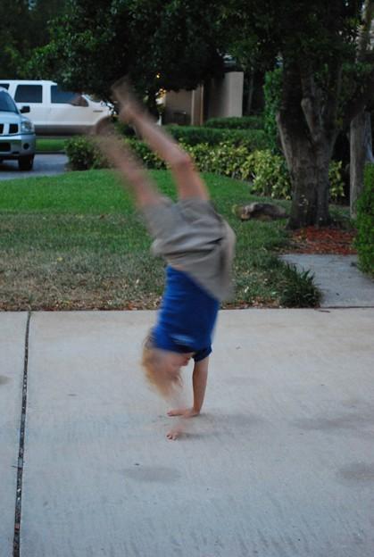 Photos: 4-13-09 Cartwheel