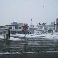 写真: 米沢。雪は多すぎず少なすぎ...