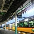 写真: 新津。米坂線といい羽越線と...