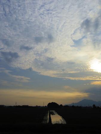 梅雨明けの朝景色