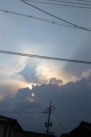 8月の雲と空