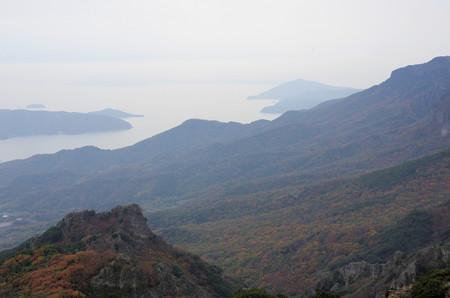 紅葉の小豆島寒霞渓