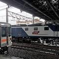列車と機関車
