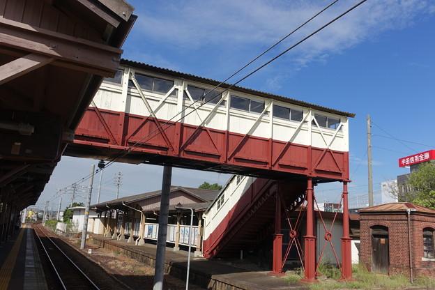 JR最古の跨線橋