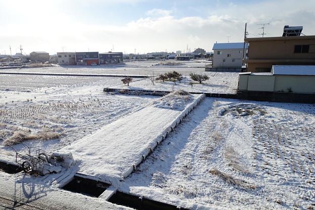 雪が止んだ
