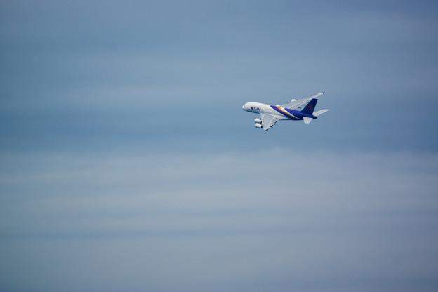 タイに帰るA380