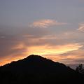 樫山の夕暮れ