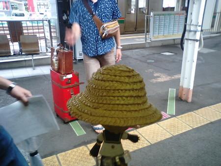 福島駅4分遅れ到着、はなたPさんとはここでお別れです。道中面白い...