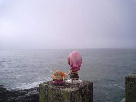 ルカ:「ゆるりもゆるりは、見えなくて残念ですけど、ここを訪れるこ...
