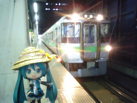 ■札幌  6:51 → 小樽  7:37   122M 普通
