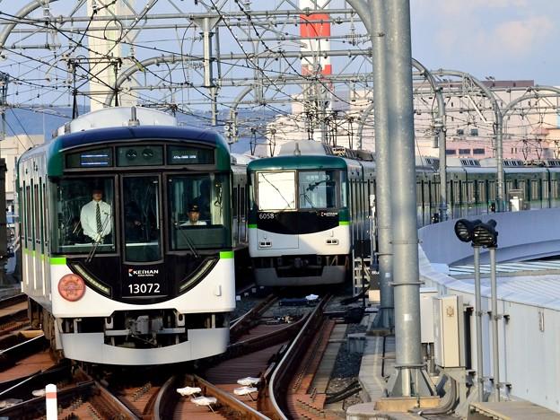 2014_1026_155944_京都から来た準急と始発の急行