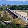 Photos: 2016_1030_100126 八幡流れ橋
