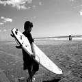 写真: 【2014夏のコンクール】Surfing boy