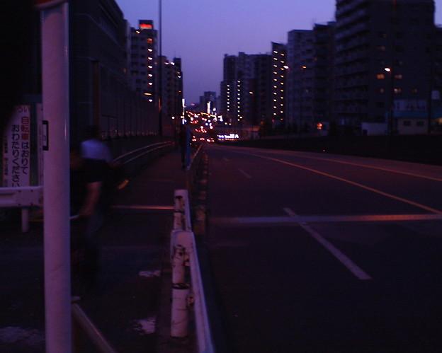 千住新橋の夕景VQ1005_20100716_IMG_0029