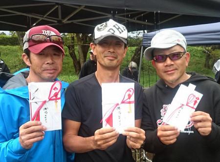 ヴァルカップ予選東山湖・上位の三名