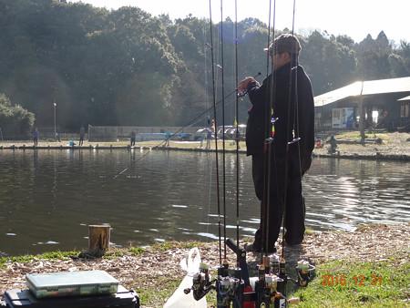 ウォルトンガーデンで2016年の釣り納め