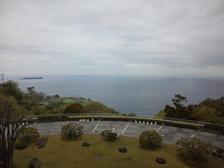 大島・初島が見える風景