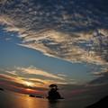 雨晴海岸 >>: 雨晴海岸の空 IMG_3464