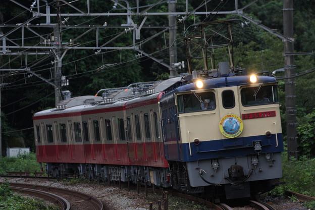 大雄山線5501編成・甲種輸送を撮影