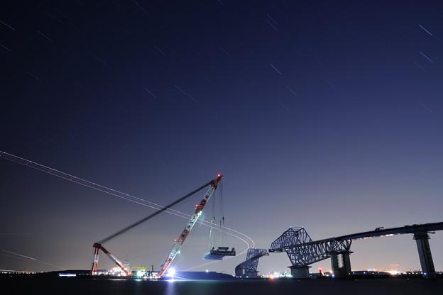 ☆夜の東京ゲートブリッジ2(Aパターン)