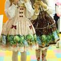 木漏れ日の森シリーズのお洋服でお友達のトキさんと合わせでロリデしてきました(°▽°) 同じデザインの色違いヽ(`▽´)/
