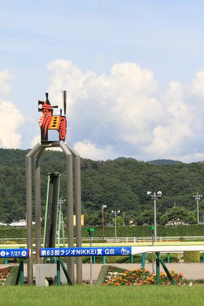 福島競馬場_ゴール板(14/07/06)