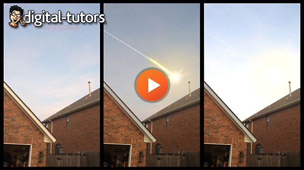 AE教程流星坠落效果Digital Tutors-Creating a Meteor VFX Shot in&nbs