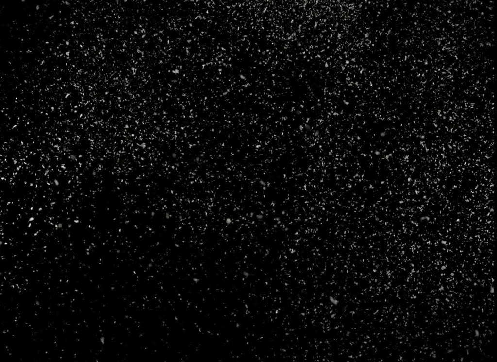 飘散的雪视频素材