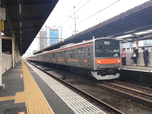 205系 千ケヨM8編成 海浜幕張駅
