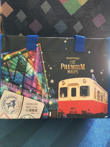 プレミアムモルツ ご当地列車と冬景色 東京ドイツ村・小湊鐵道