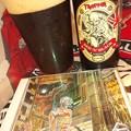 Photos: 英国産ロビンソンズ・ブリュワリー『IRON MAIDEN / RED'N'BLACK PORTER』旨い。...