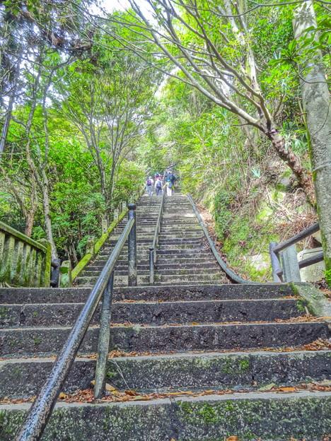 摩耶旧天上寺階段300段