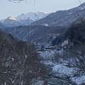 Photos: 蒲田川と槍ヶ岳