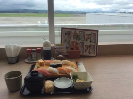 2014.08.14 富士山静岡空港 出発前の昼食