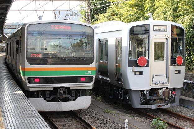 湘南新宿ラインE231系1000番台 U-506編成・南海電鉄8000系 8005F