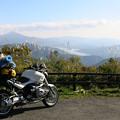 09福島県檜原湖を望む