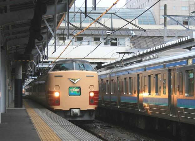 おはようライナー(長野駅にて)