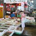 写真: 海鮮市場