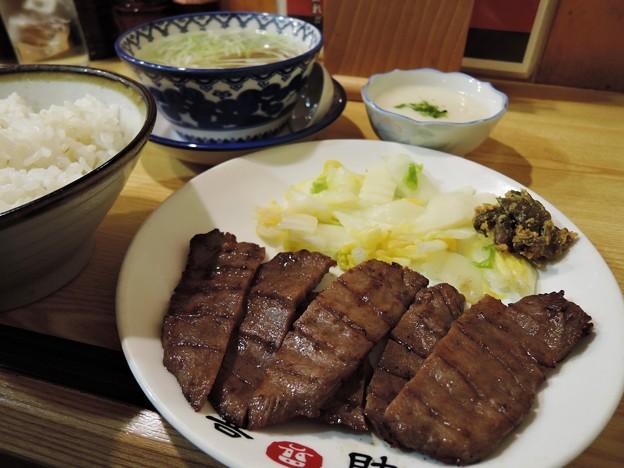 牛たん炭火焼定食