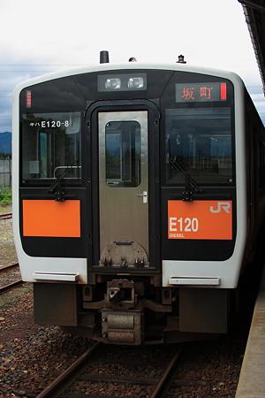 米坂線E120