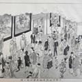 上野博物館内物品陳列場の図s